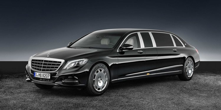 Mercedes-Benz Maybach Pullman 2018