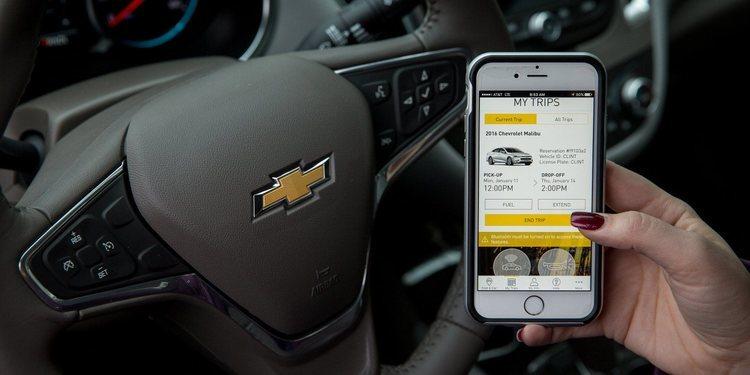 Conoce la aplicación para el acceso de vehículos a pedido Maven