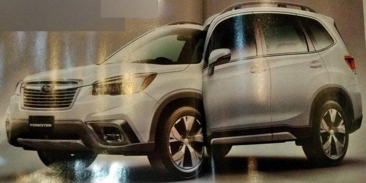 El Subaru Forester 2019 se filtra antes de su presentación