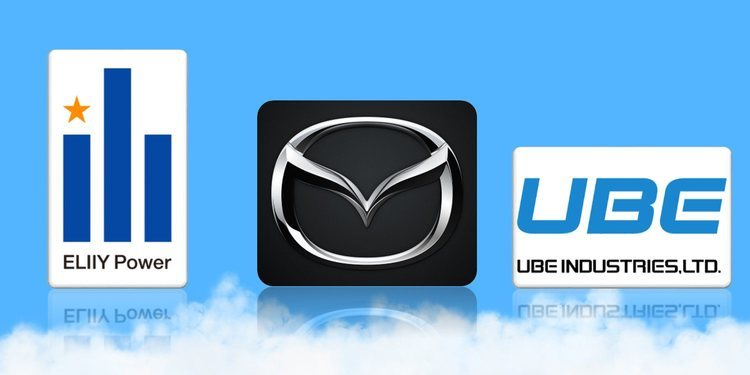 Mazda, ELIIY Power y Ube Industries LTD se unen para fabricar baterías de iones de litio