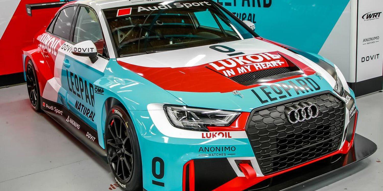 Leopard Racing presenta su Audi y patrocinadores para el 2018