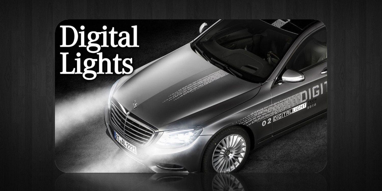 Nuevo sistema de iluminación Digital Light de Mercedes-Benz
