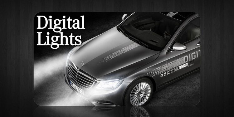 Nuevo sistema de iluminación Digital Light de Mercedes-Benz