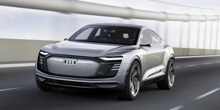 Audi planea el e-tron GT