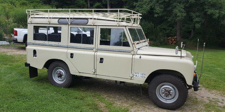 Un poco de historia con El Todoterreno Land Rover Santana