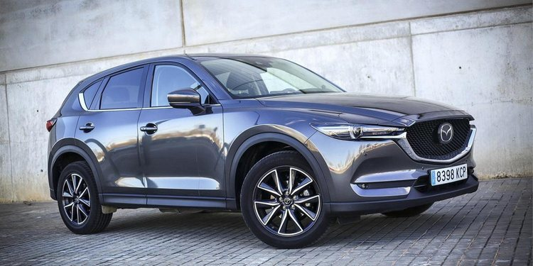 Mazda lanzó al mercado el CX5 2.5