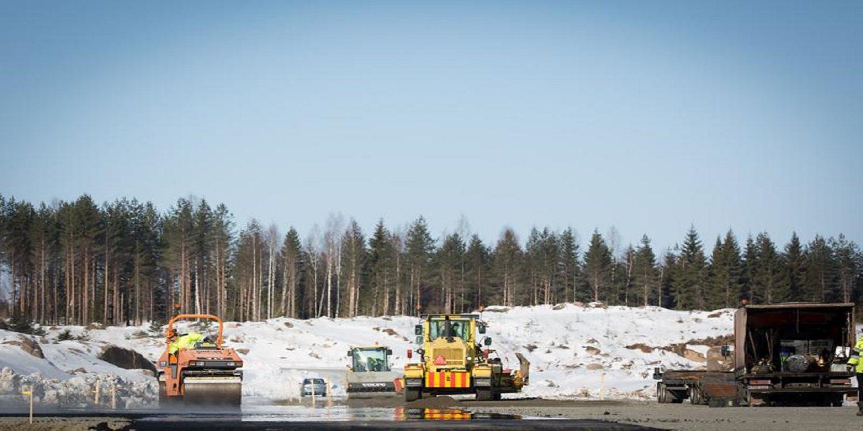 El circuito de Finlandia va cogiendo forma