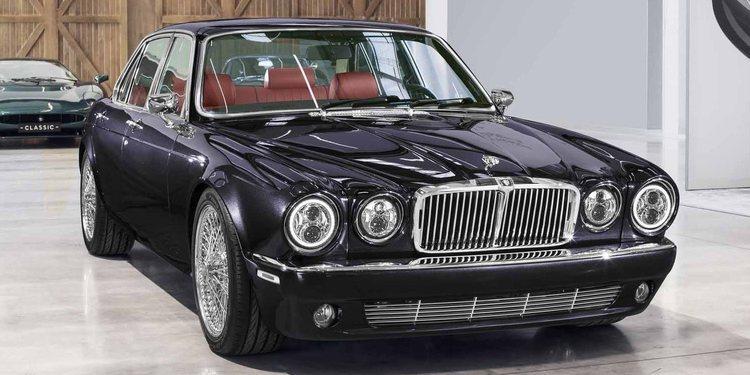 Conoce el Jaguar XJ restomod de Nicko McBrain, baterista de Iron Maiden
