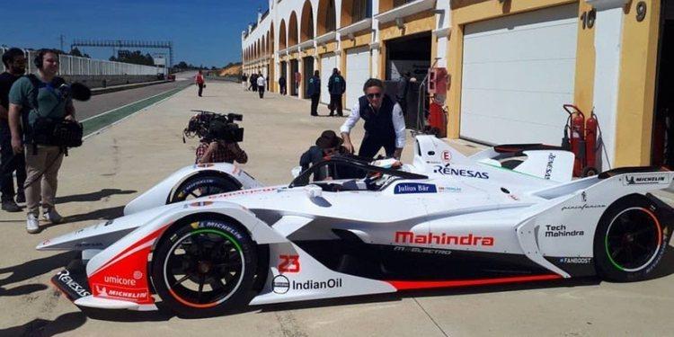 La Fórmula E completó con éxito el primer test con el Gen2