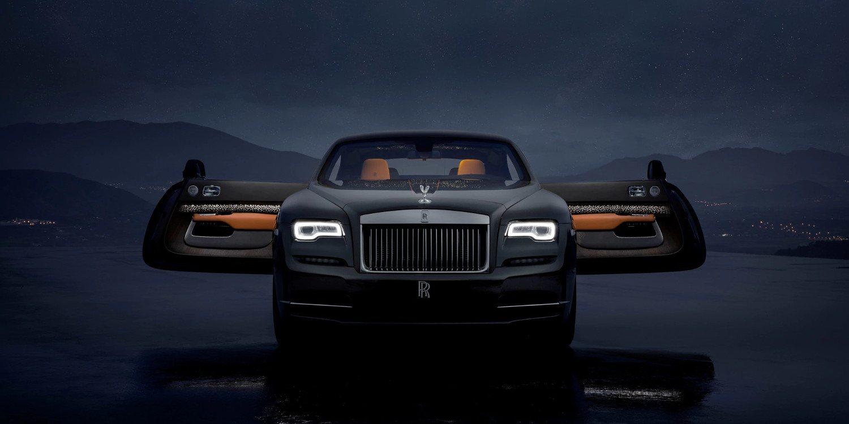 Rolls Royce presentó un extraordinario Wraith Luminary Collection