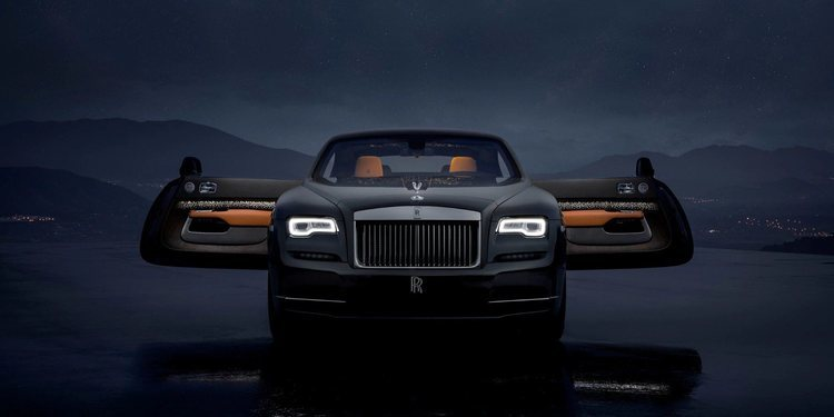 Rolls Royce presentó un extraordinario Wraith Luminary Collection