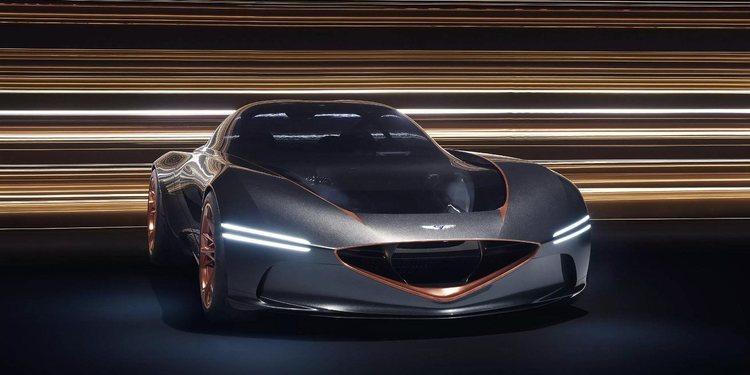 Genesis presentó el extraordinario Essentia GT Concept