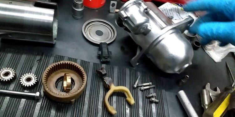 El Motor de Arranque, su concepto, partes y función