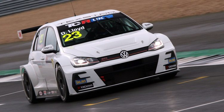 Fin de semana perfecto para Daniel Lloyd en Silverstone
