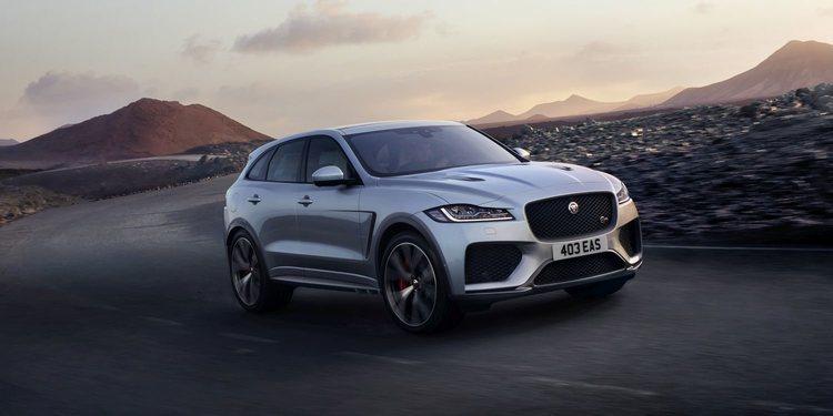 F-Pace SVR el nuevo ejemplar de la gama deportiva de Jaguar