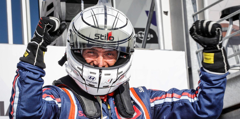 """Gabriele Tarquini: """"Fue una carrera tranquila"""""""
