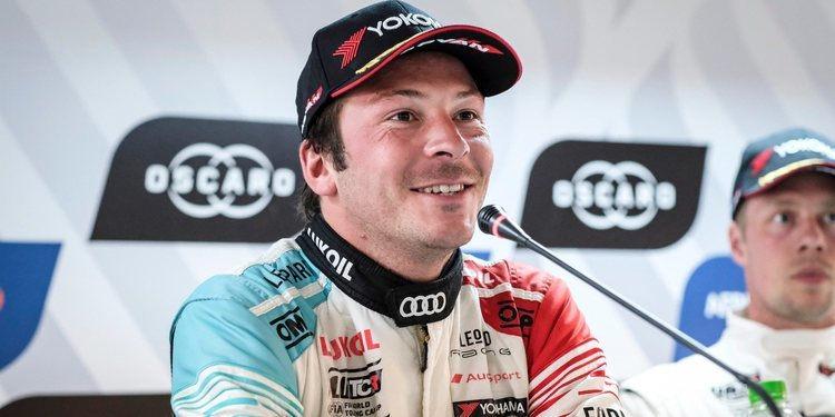 """Jean Karl Vernay: """"Acabé todas las carreras con mi hermoso Audi de una sola pieza"""""""