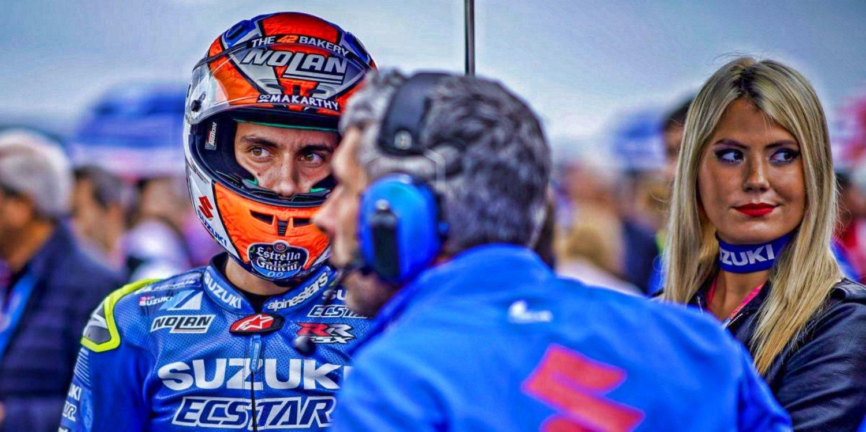 Suzuki confía en Álex Rins