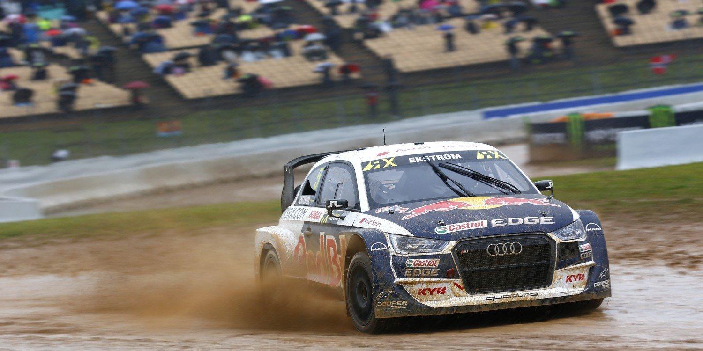 Mattias Ekström vuelve a comenzar el año ganando