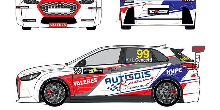 Dos coches para Piro Sport en las TCR Europa 2018