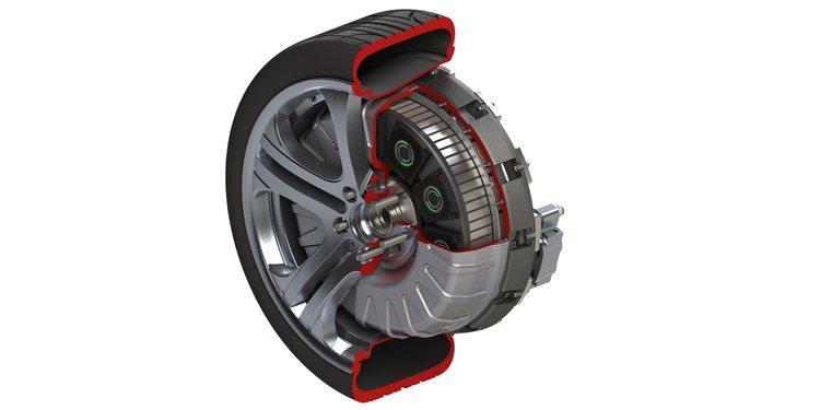 Nuevo motor eléctrico integrado en las ruedas de Protean Drive