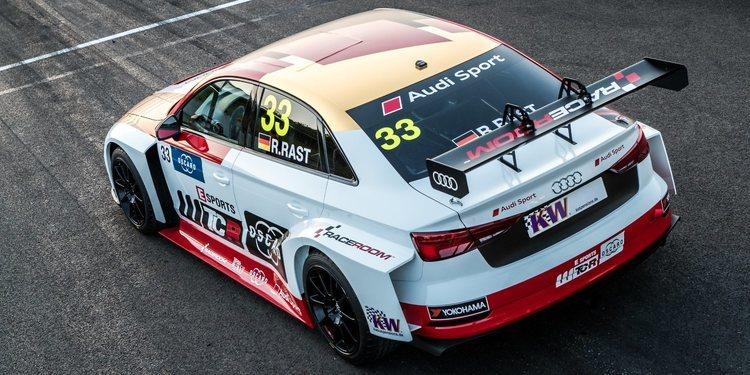 El Audi RS 3 LMS TCR de René Rast para correr en el Nürburgring Nordschleife