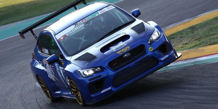 El Subaru Impreza WRX STI TCR es la elección para Stefano Comini