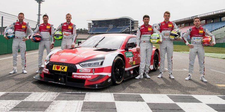 Audi Sport defenderá los tres títulos en Hockenheim