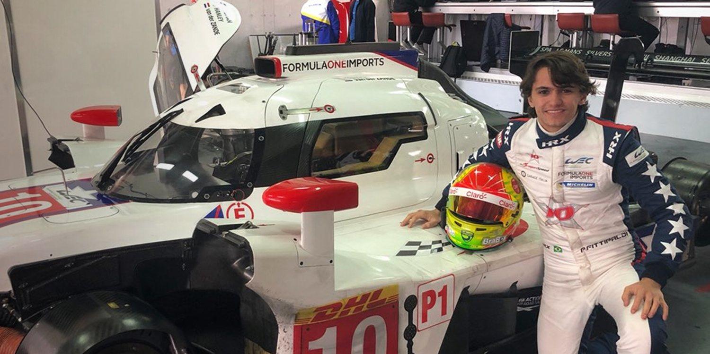 Fuerte accidente de Pietro Fittipaldi en Spa