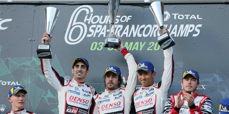 Fernando Alonso debutó en el WEC con victoria en Spa