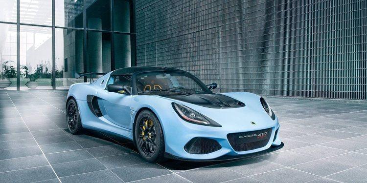 Lotus mostró el nuevo Exige Sport 410 2018