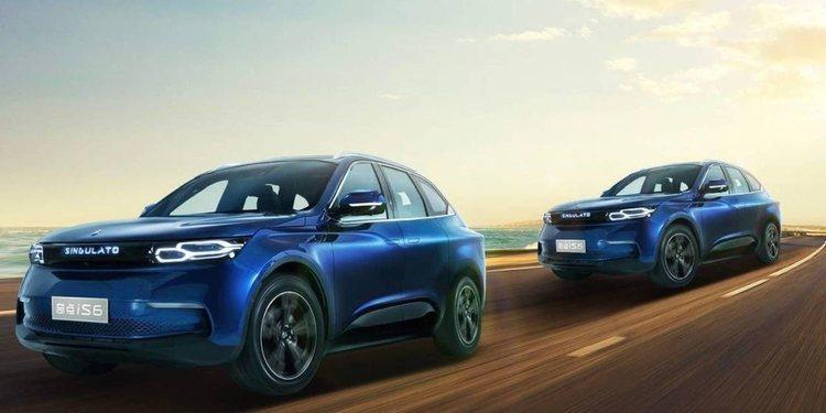 Singulato iS6 un coche chino lleno de lujo y tecnología