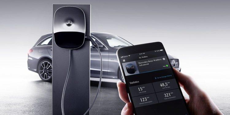 Conoce la estación de carga domestica Mercedes Wallbox con hasta 22 kWh