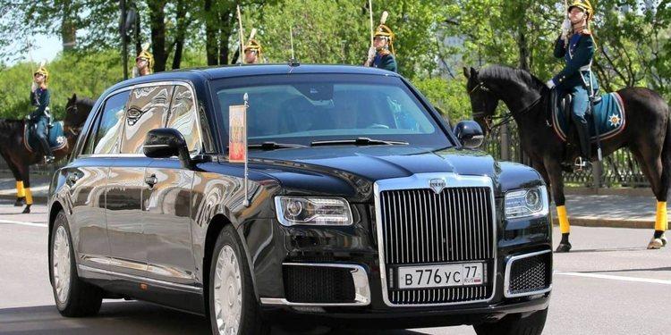 La nueva limusina de Putin