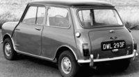 Luego de 35 años aparcado se subasta Mini Clásico de 1967