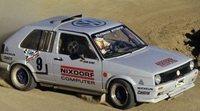 Volkswagen presentó el histórico Golf II rumbo a Pikes Peak