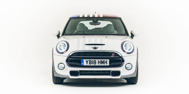 Mini presentó el modelo especial para la realeza británica
