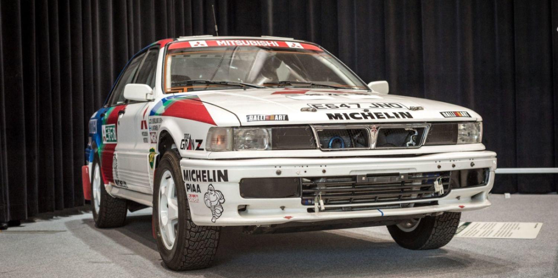 Fue subastado el famoso Mitsubishi Galant VR-4 Group A de 1990