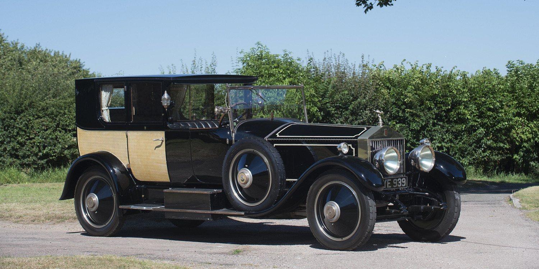 El Rolls-Royce Phantom I Brougham de Ville de 1926