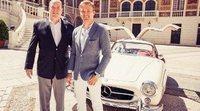 ¿Sabías que Nico Rosberg tiene un Mercedes-Benz 300 SL 1955?