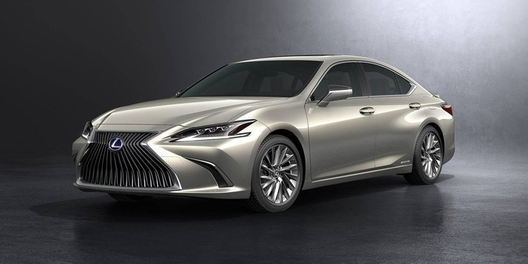 El nuevo Lexus ES 2019 se comercializará en toda Europa