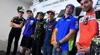 La rueda de prensa del Gran Premio de Francia