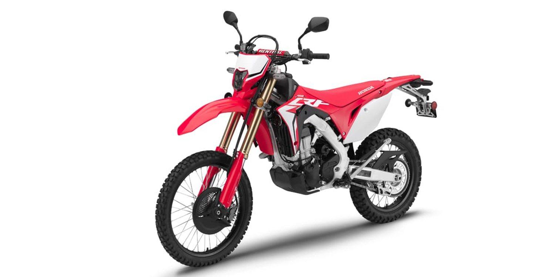 Descubre la nueva Honda CRF 450 L 2019