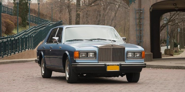 A subasta un Rolls Royce Silver Spirit