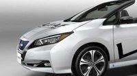 Nissan presentó el LEAF Open Car