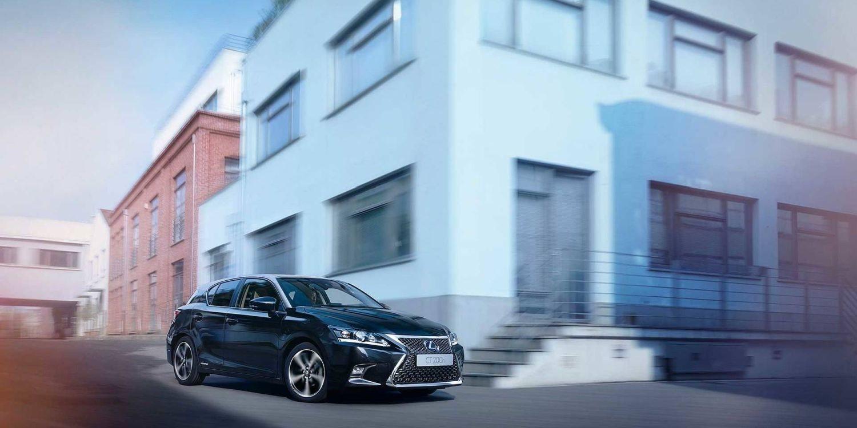 Lexus CT 200h Black and Grey una edición especial de impacto