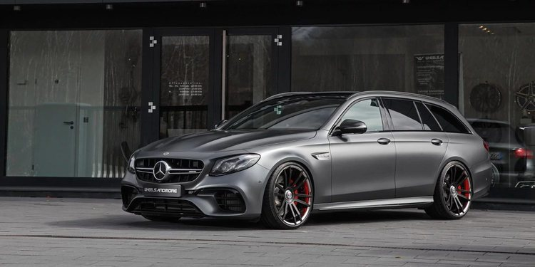 El Mercedes-AMG E63 S Estate