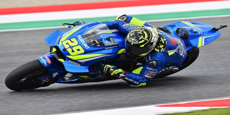 """Andrea Iannone: """"La sensación con la moto es muy buena"""""""
