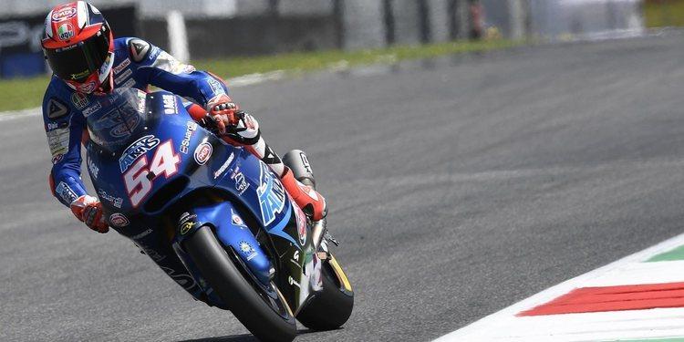 Mattia Pasini domina por completo el sábado