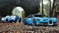 Lego presentó un Bugatti Chiron a escala